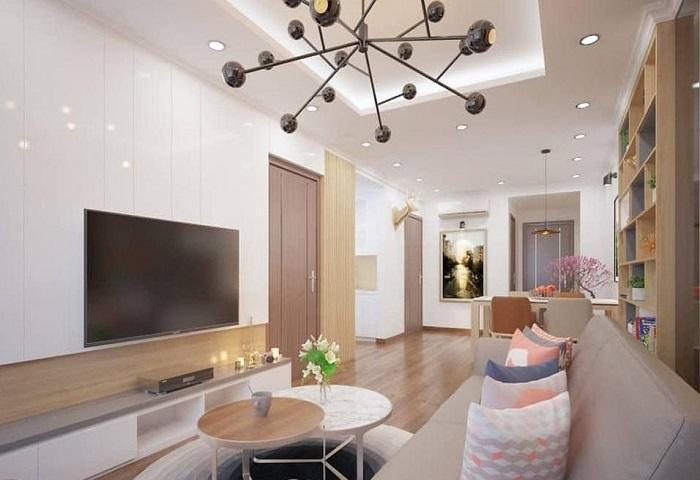 Nội thất chung cư Goldmark City – Sapphire 4