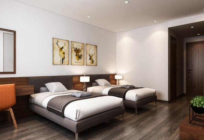 Thiết kế nội thất cho khách sạn DVATA Tuần Châu