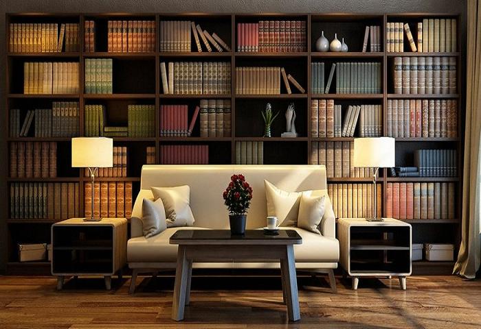 Gợi ý mẫu thiết kế phòng làm việc, phòng đọc sách cho căn hộ chung cư