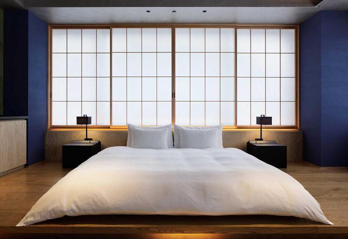Thiết kế phòng ngủ cho chung cư theo phong cách nhật bản độc đáo