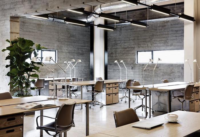 Tìm hiểu về phong cách nội thất văn phòng kiểu Industrial