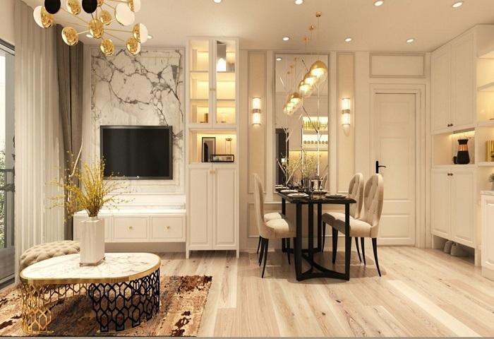 Thiết kế căn hộ mẫu dự án chung cư EuroWindow