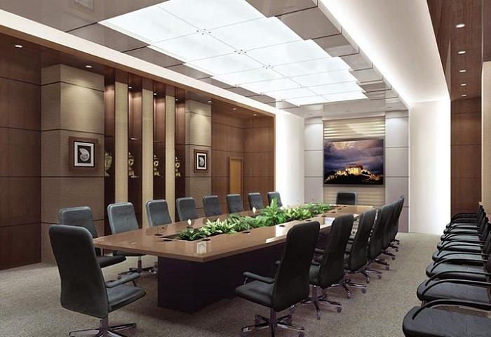 Tiêu chuẩn thiết kế nội thất phòng họp cho văn phòng