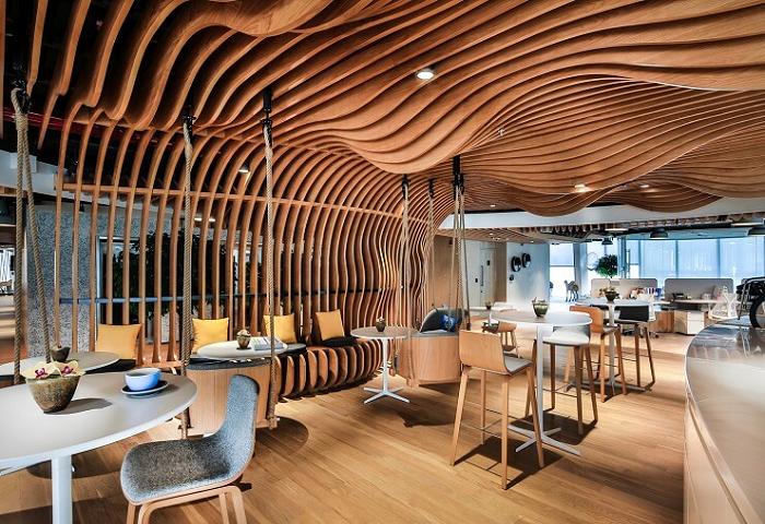 Những mẫu thiết kế văn phòng làm việc sáng tạo