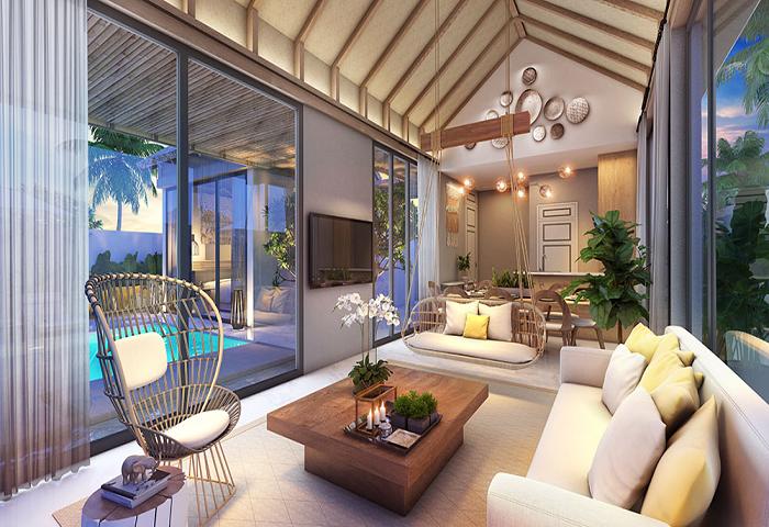 Mẫu thiết kế resort Sun Grand Phú Quốc