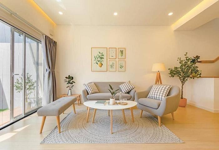 Gợi ý mẫu thiết kế nội thất nhà phố phong cách Hàn Quốc