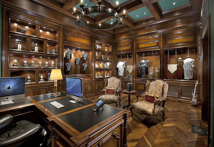 Thiết kế phòng làm việc phong cách cổ điển cho biệt thự