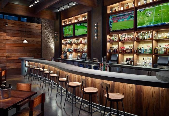 Những lưu ý khi thiết kế quầy bar cho nhà hàng