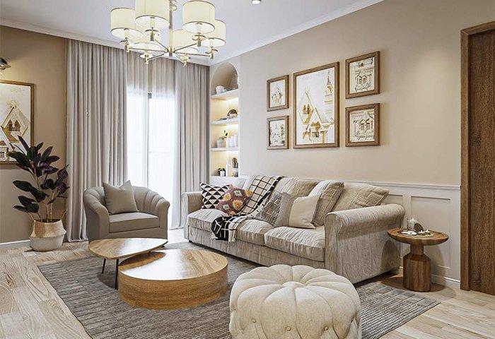 Thiết kế nội thất tân cổ điển: vẻ đẹp của sự sang trọng và quý phái.