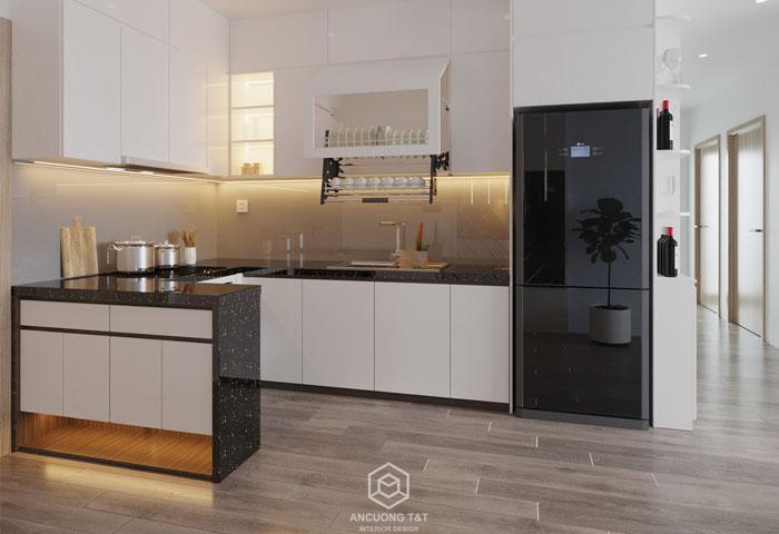 Thiết kế nội thất chung cư Vinhomes Ocean Park – Ms Tuyết