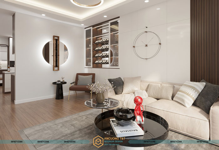 Thiết kế nội thất chung cư Le Grand Jardin – Ms Hiền