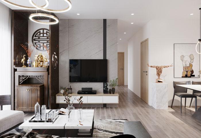 Thiết kế nội thất chung cư Adora – Mr Thắng