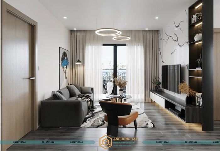 Thiết kế nội thất chung cư Vinhomes Ocean Park – Ms Mai